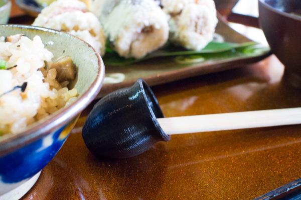 壺形箸置き使用例2