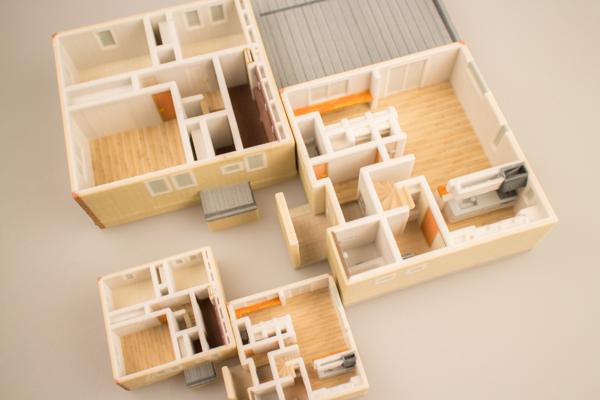 マイホーム3Dプリント模型