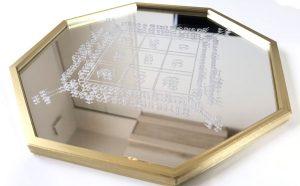 3Dプリントしたベゼルの金メッキ塗装