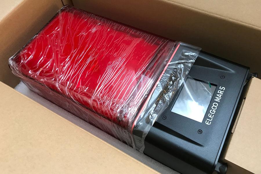 低価格UV-3DプリンターMARSのレビュー