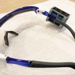 センサーをゴーグルに取り付けるケースをデザイン&3Dプリント